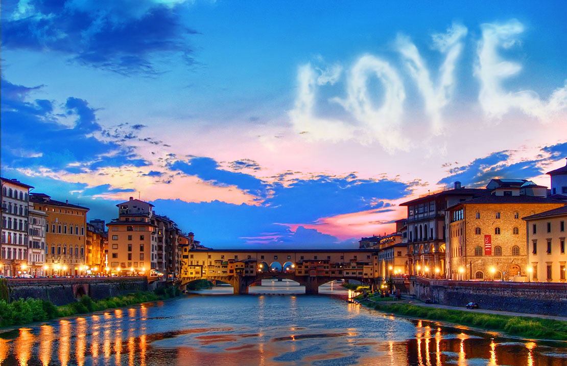 Florence in love walk & aperitivo