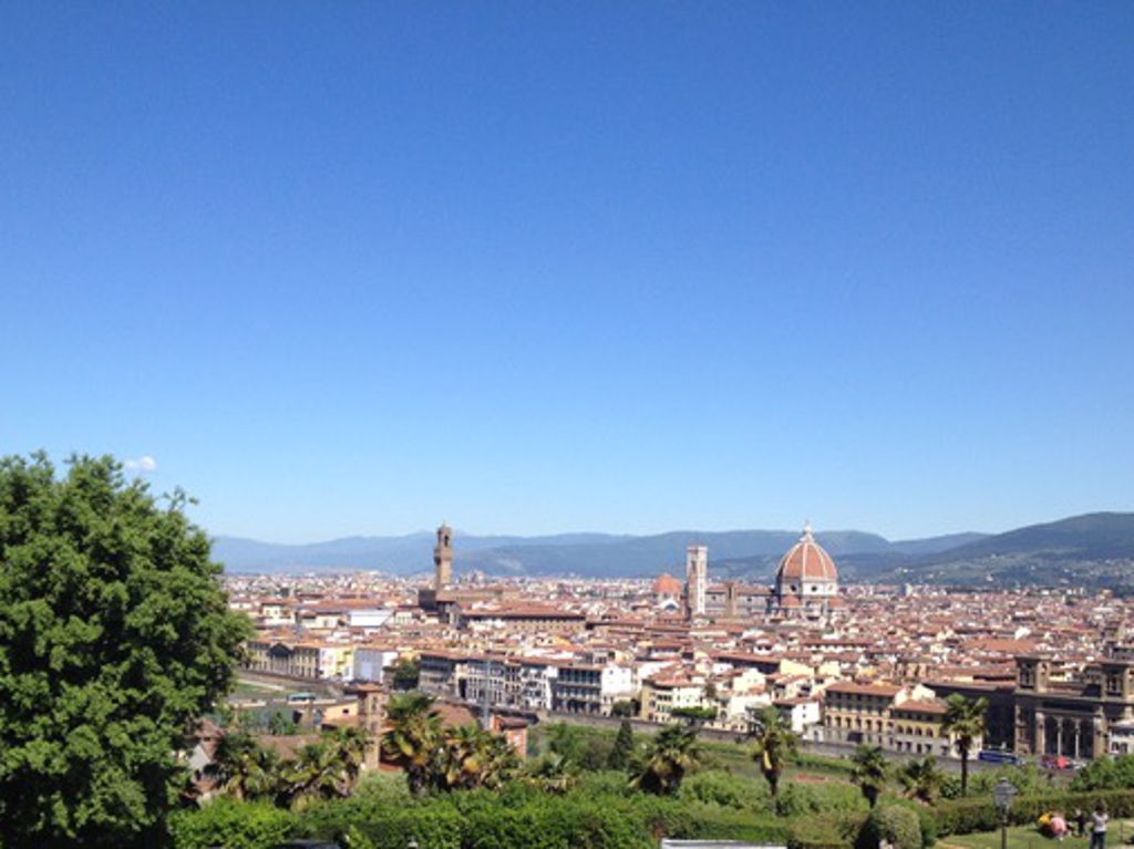 Piazzale Michelangelo: perfect spot to spot Florence