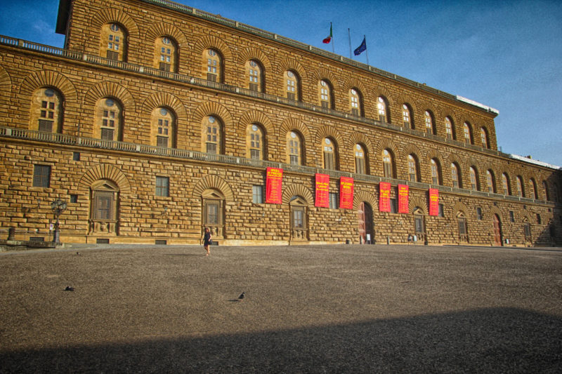 palazzo pitti museum - original photo wikicommons