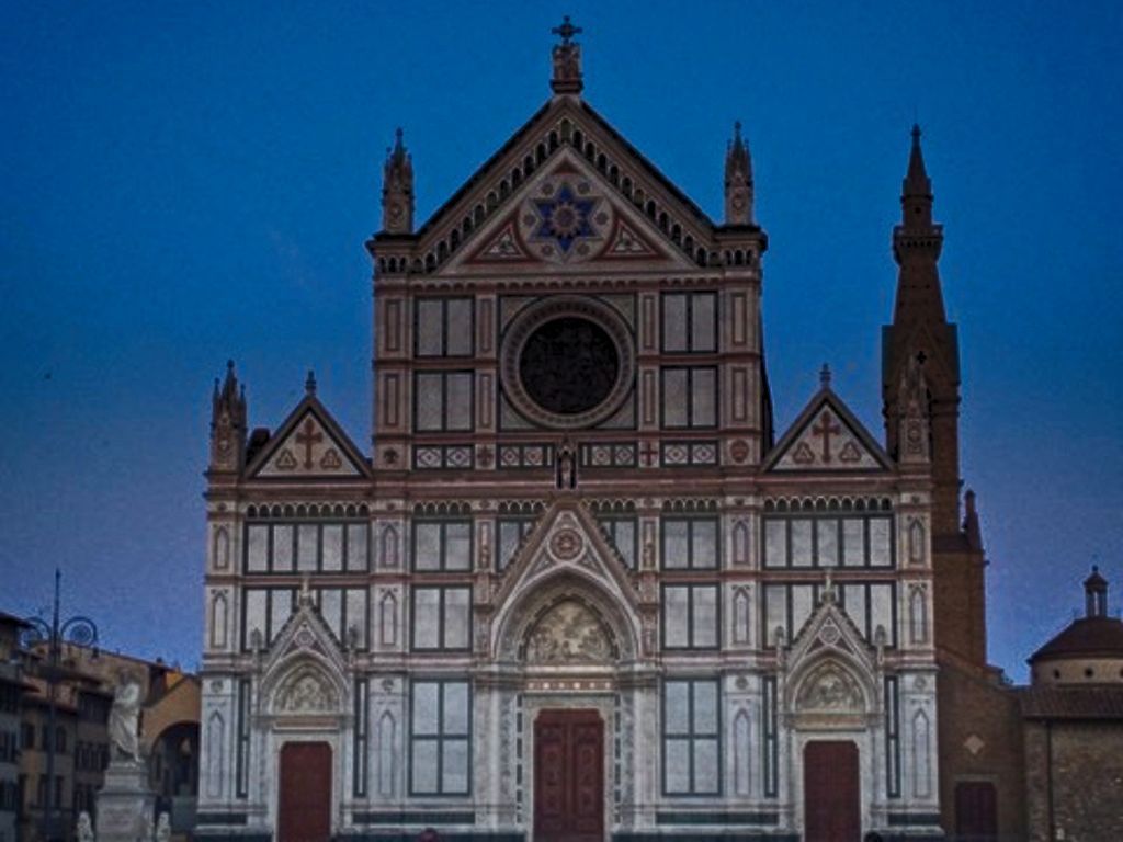 "Santa Croce Florence: an Italian culture ""Hall of Fame"""