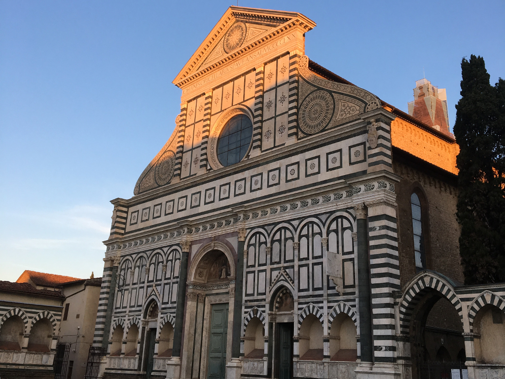Santa maria novella the other st mary s church in florence for Novella homes