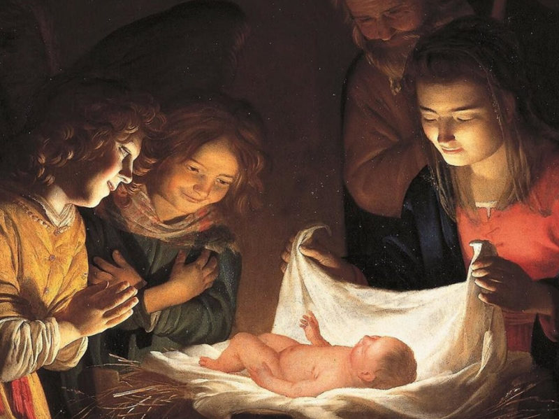 florence christmas art - gerard van honthorst - it's florence!