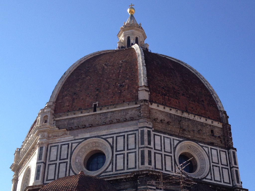 Brunelleschi's Dome: icing the top of the Renaissance's cradle