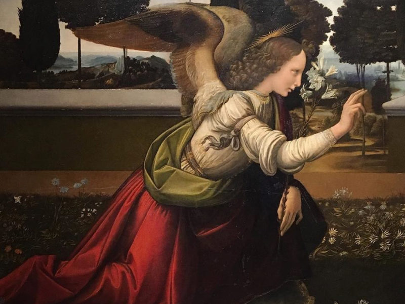 annunciation florence paintings - itsflorence