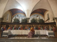 florence easter - ghirlandaio - last supper in san marco - itsflorence