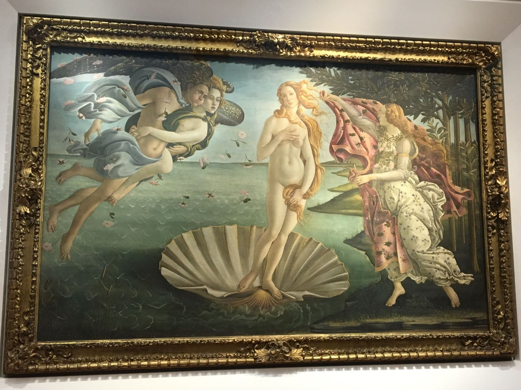 The birth of Venus: Botticelli's Masterpieces in Uffizi, Florence